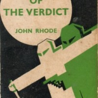 In Face Of The Verdict by John Rhode