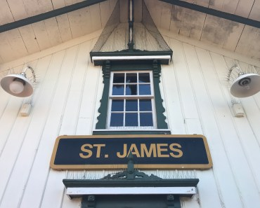 St James Train Station