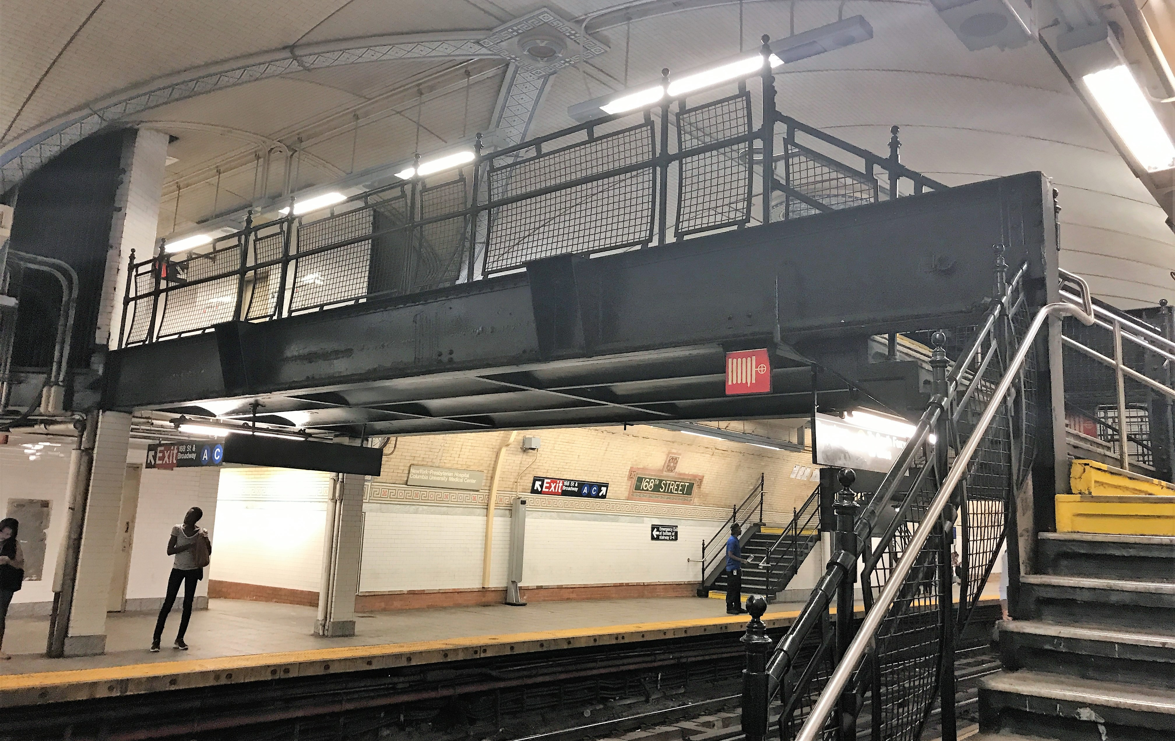 New York's 168th Street Subway Station Is Elevator Only To The