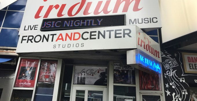 Iridium Theater History