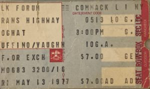 NY's Summer of 1977 Concerts