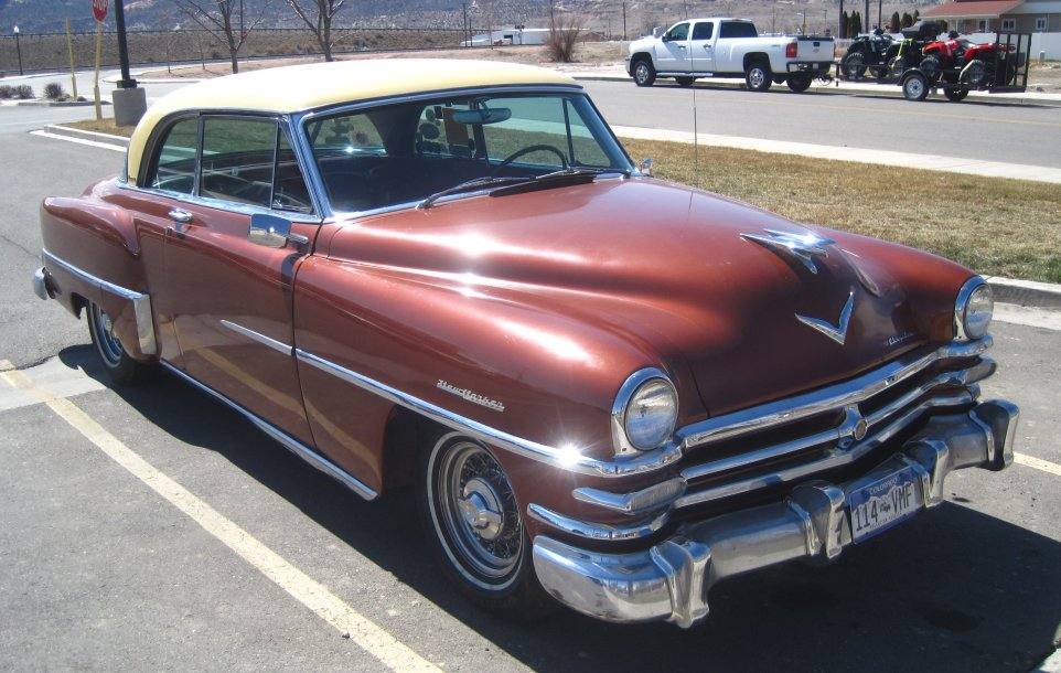 Image result for 1953 Chrysler New Yorker