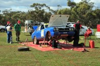 Cuthbert/Runnalls car in service at Yallock