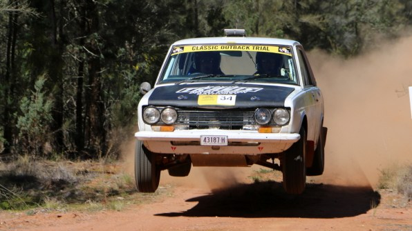 1st OR: Andrew and David Travis, 1971 Datsun 1600