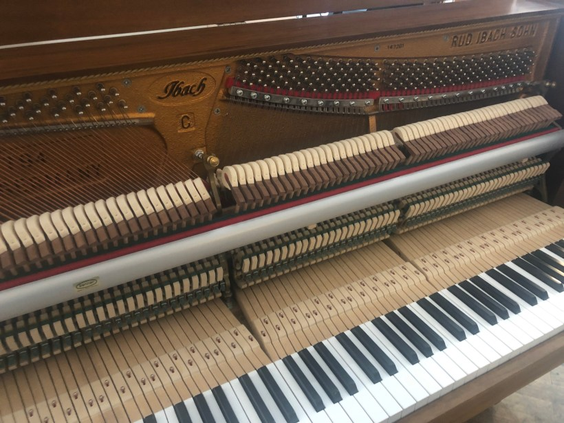 Klavier Ibach Mechanik