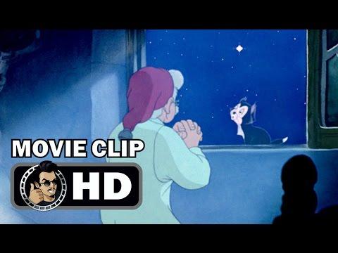 PINOCCHIO Movie Clip – The Wish (1940) Classic Disney Animation HD