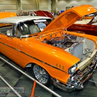 CRCSE SHOW: 1957 Chevrolet Bel Air Custom