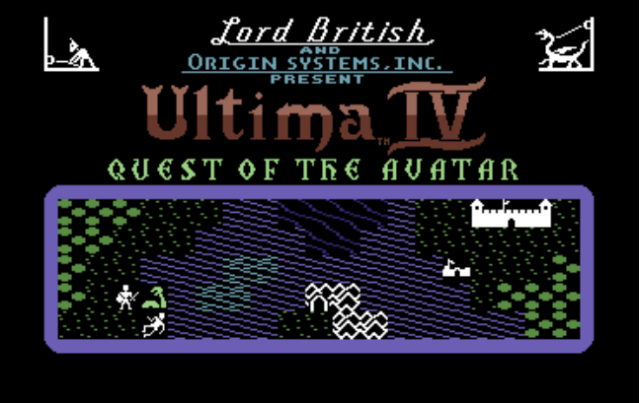 Image result for Ultima 4: Quiest of the Avatar