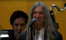 Nobelpreis Patti Smith Singt Hard Rain' -gonna Fall