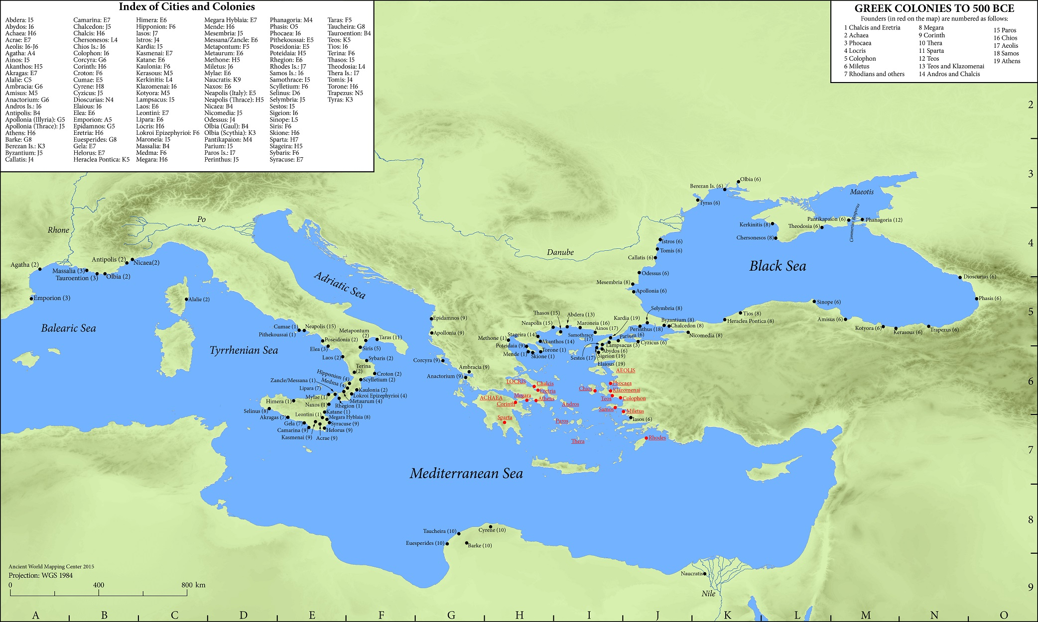 Map Ancient World Afp Cv