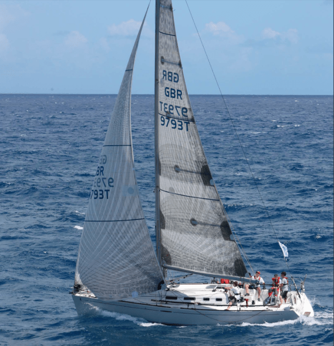 Cheeki Rafiki was found abandoned with her keel missing and all four of her crew gone