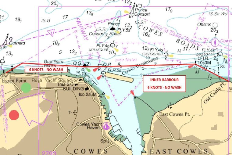 Cowes issues safety codes