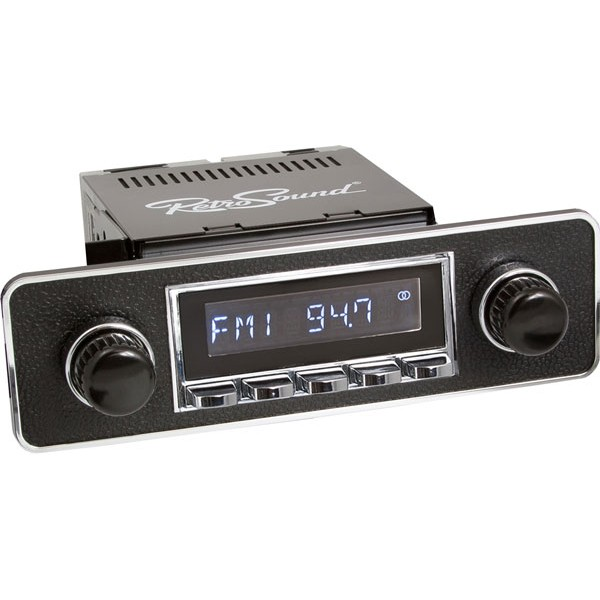 Radio RetroSound SB Chrom Euro Black (DAB)