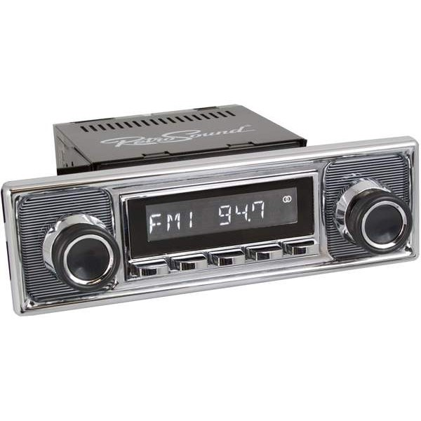 Radio RetroSound SD Chrom Pinstripe (DAB)