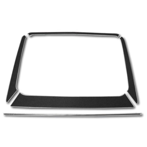 Dekory Czarne Folia Na Tylną Klapę VW Golf 1 GTI