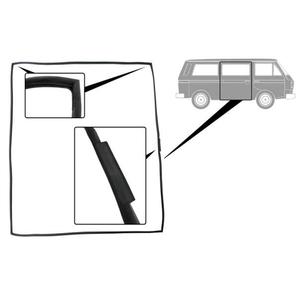 251843792B Uszczelka Drzwi Przesuwnych (OEM) VW Bus T3