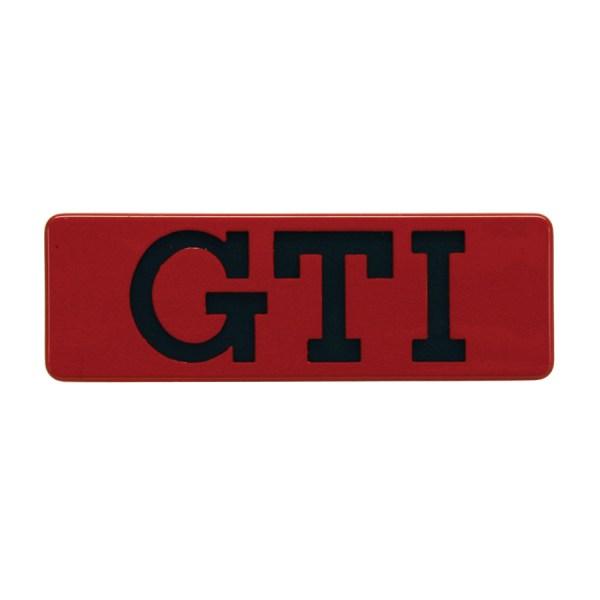 """191853714QN5 Emblemat Boczny """"GTI"""" VW Golf 2, Jetta 2"""