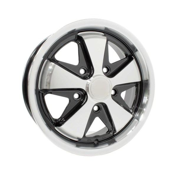 "AC601005BP Felga SSP Fooks Alloy Wheel Black 5.5Jx15"""