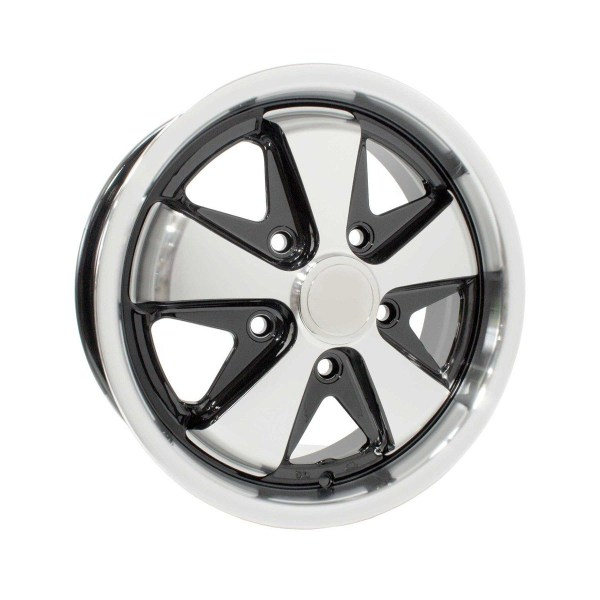 "Felga SSP Fooks Alloy Wheel Black 5.5Jx15"" VW Golf 1, Caddy 1"