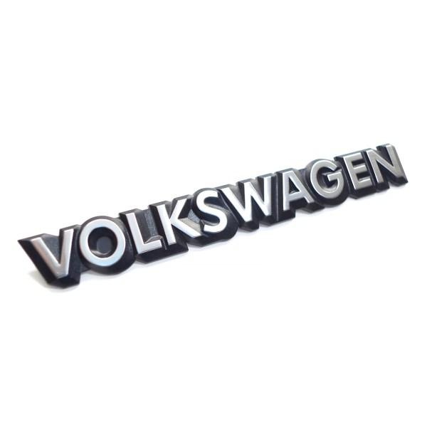 "321853685C Emblemat ""Volkswagen"" (Chrom) Na Tylną Klapę VW Golf 1 Cabrio , Golf 2"