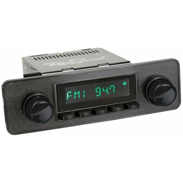 Radio RetroSound HR Black Euro Black + Bluetooth