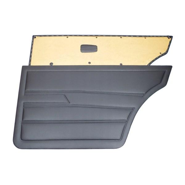Tapicerki Boczne Tylne Czarne (OEM) VW Golf 1 (4D)