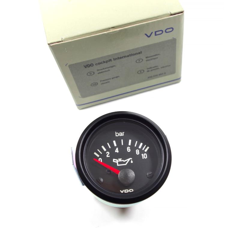 350030004 VDO Wskaźnik Ciśnienia Oleju 10 Bar VW, Bmw, Mercedes