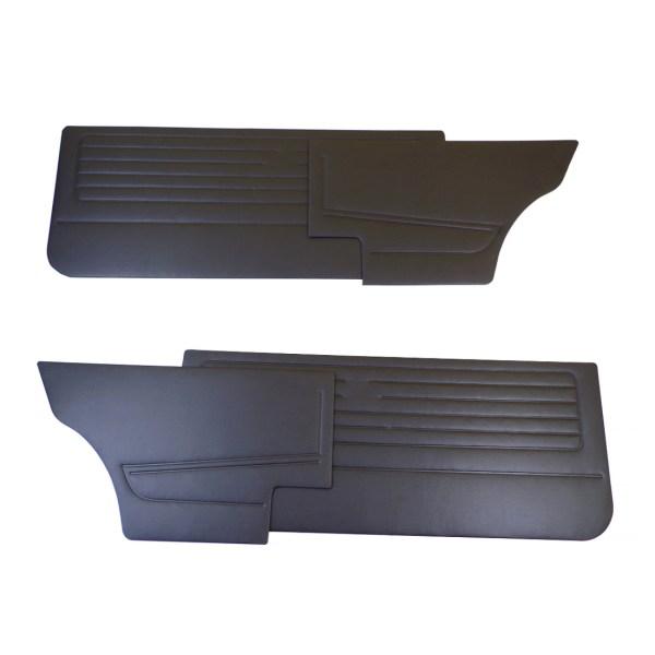 Tapicerki Boczne Czarne (Komplet) VW Golf 1 (3D)