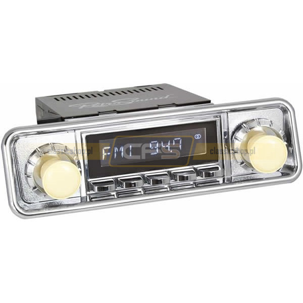 Radio RetroSound HR Chrom Hooded Classic + Bluetooth