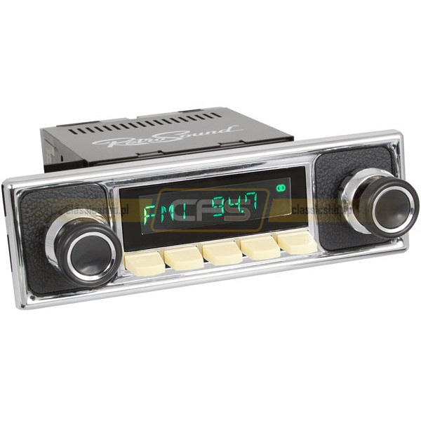 Radio RetroSound HR Ivory Pebble + Bluetooth