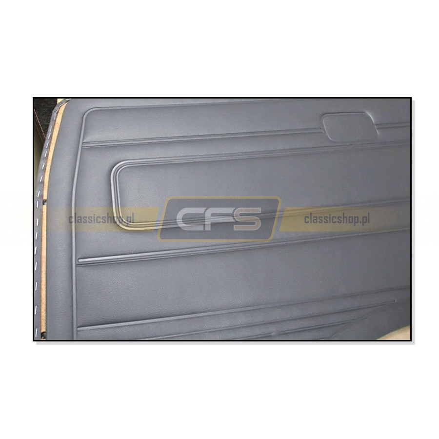 Tapicerki Wnętrza Szare (Komplet) VW Bus T3 (79-84)