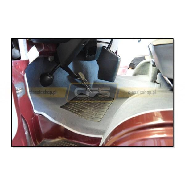 Dywany Podłogi Szare (Komplet) VW Bus T3 (Benzyna i Diesel)