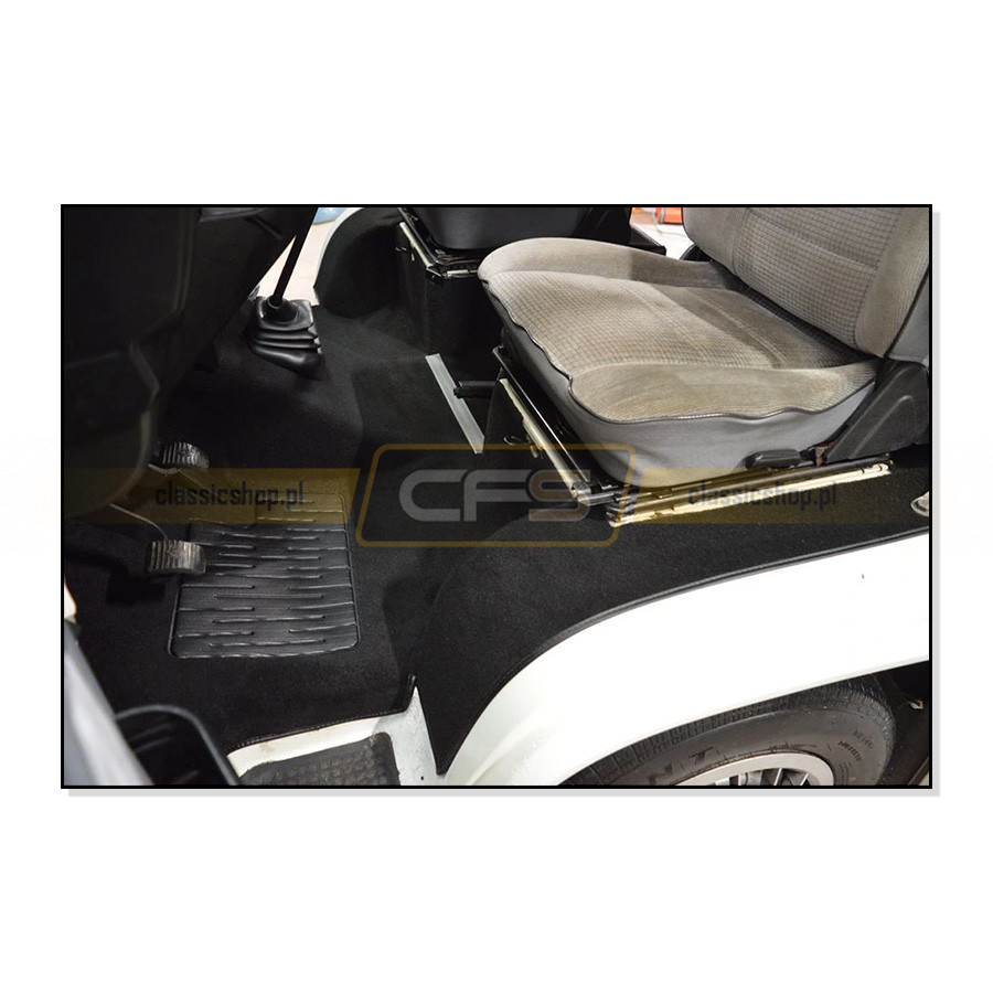 Dywany Podłogi Beżowe (Komplet) VW Bus T3 (Turbo Diesel)