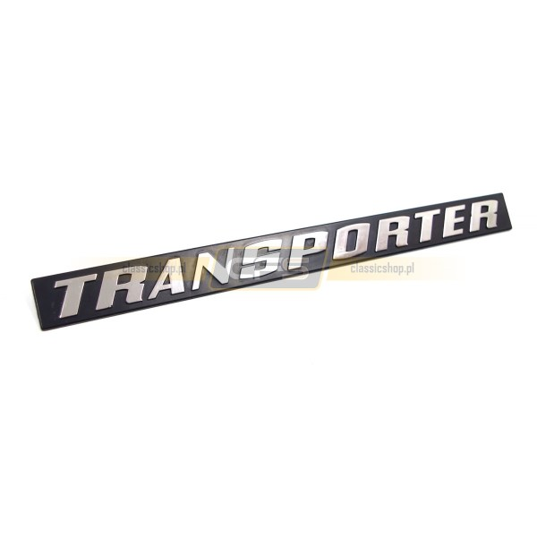 "Emblemat Tylny ""Transporter"" VW Bus T3 (79-85)"