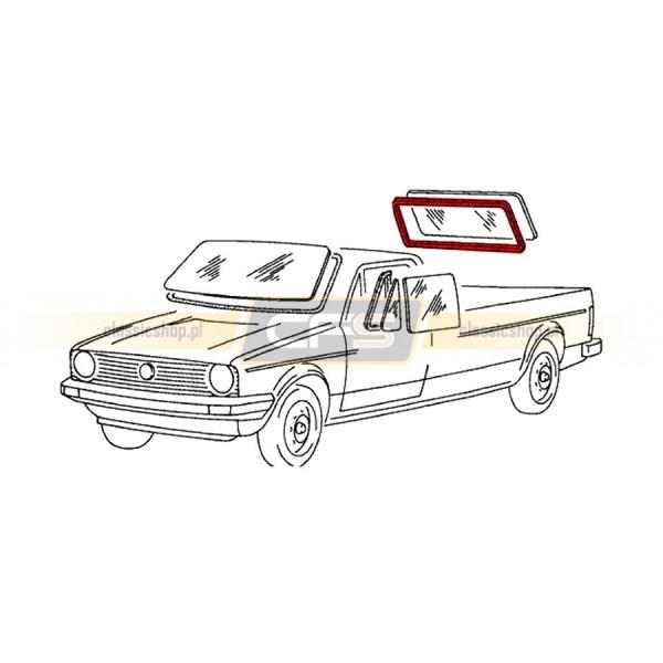 Uszczelka Szyby Tylnej VW Caddy 1