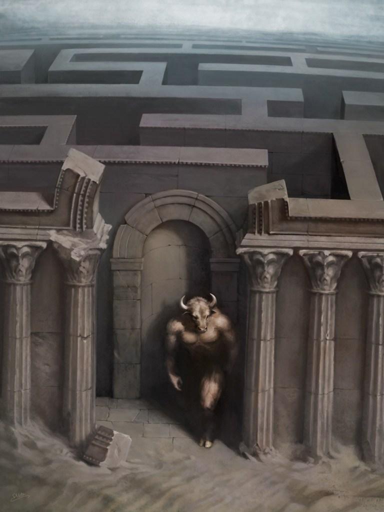 Labyrinth and Minotaur