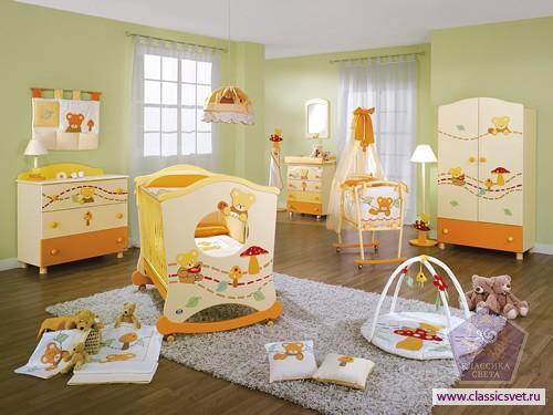 Обустройство интерьера и ремонт детской комнаты