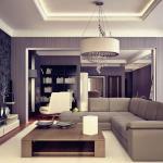Освещение интерьера в стиле «модерн»