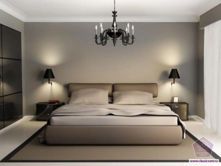 Как выбрать люстру в спальню