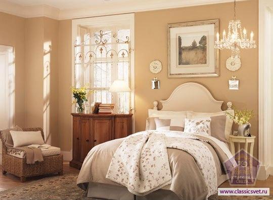 Уютная спальня 02