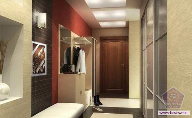 Дизайн коридора в маленькой квартире