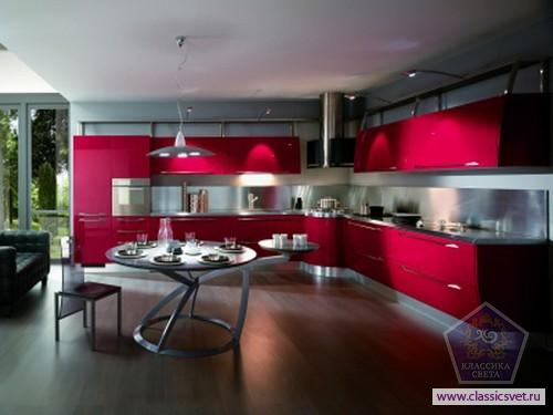 Кухня в стиле хай-тек 02