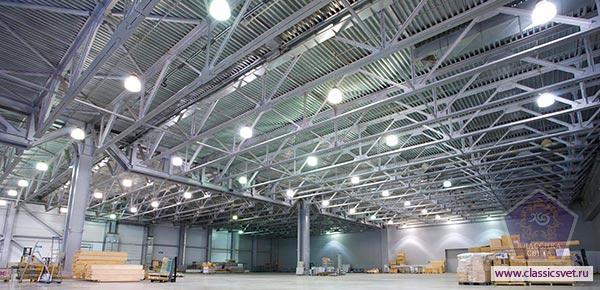 Промышленные светодиодные светильники 02