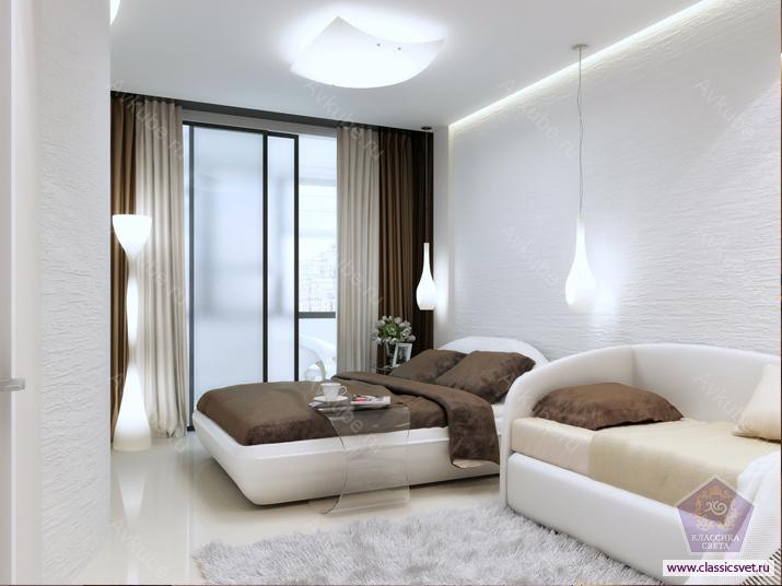 Правильное освещение в комнате 02