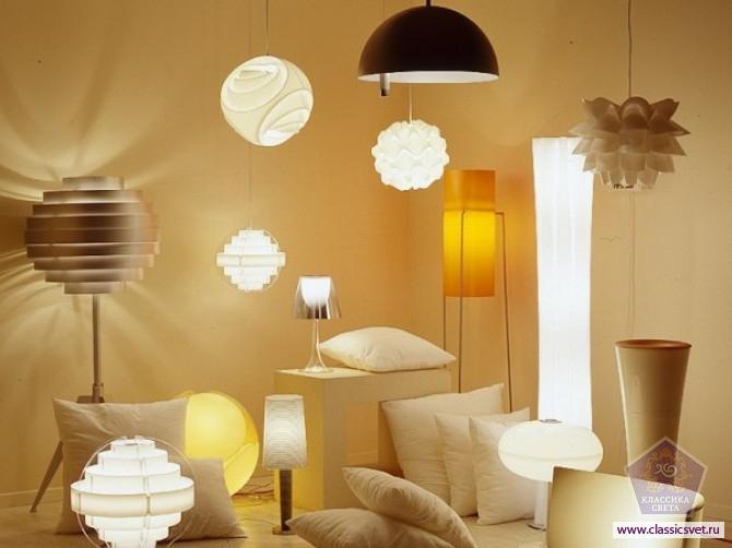 Как правильно выбирать светильники для квартиры 02