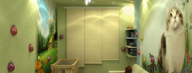Ремонт детской комнаты 02