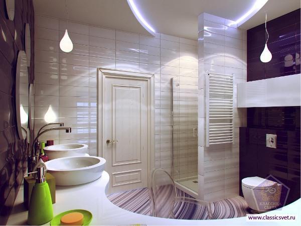 Уютный интерьер ванной комнаты – отдых для души