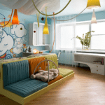 Интерьер детской комнаты. Светильники