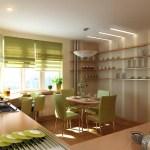 Как удобно обустроить кухню?