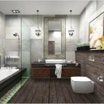 Играет ли цвет и освещение при создании дизайна в ванной комнате?